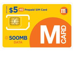 M Card   M1